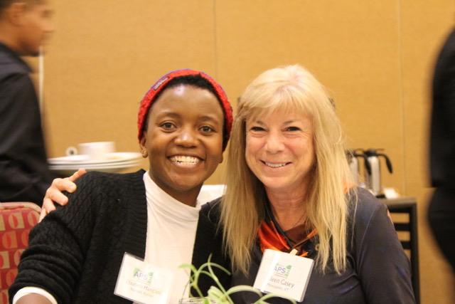 Elizabeth & Eileen Casey, Exec Coordinator, VT Gov Cmte on Employment of PWD