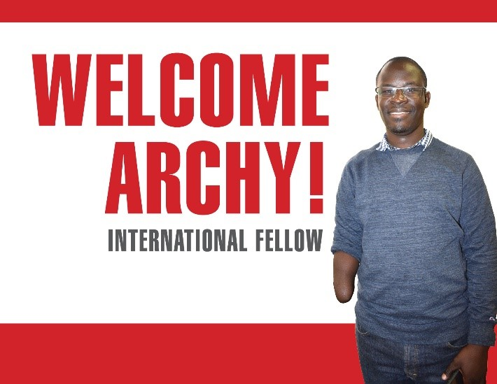 PFP-IDE Fellow Archy Gomba at the Center for Disabilities and Development, IowaCity